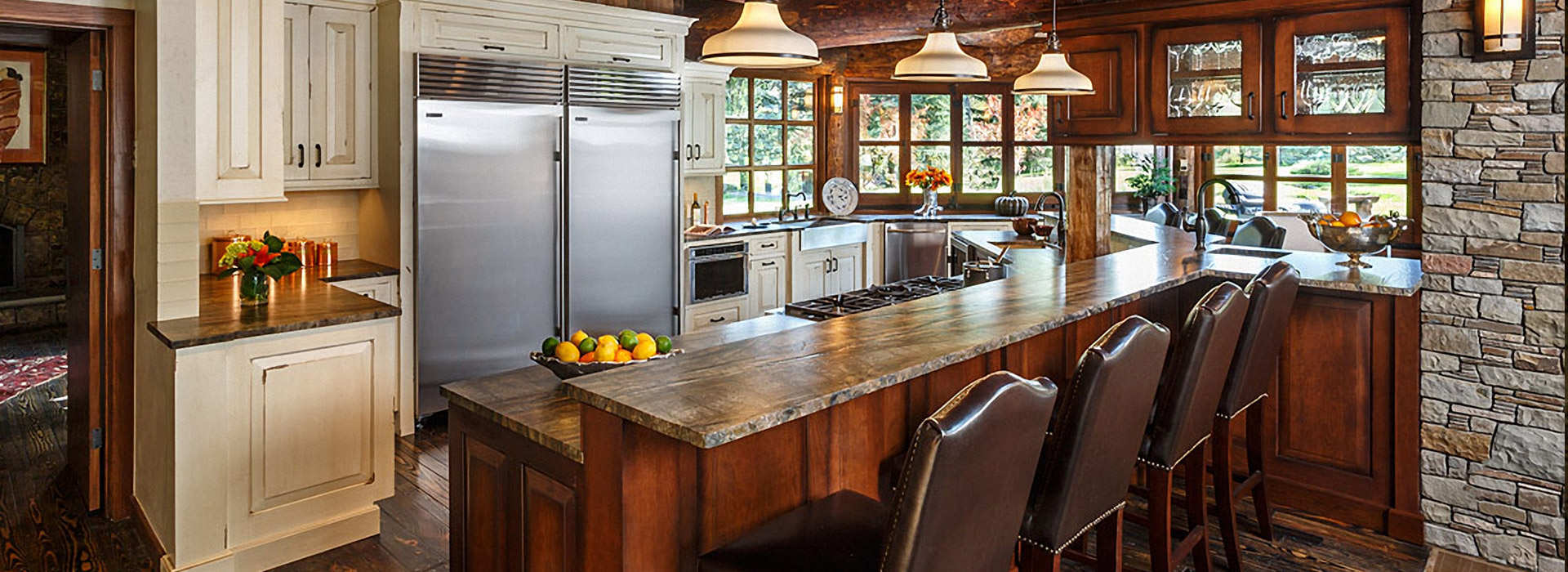 Ranch House Kitchen Fusion Interiors